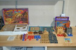 1983 Crossbows And Catapults Game Lakeside Complete W/ Castle Outposts Add-on