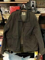 Old Navy Menand039s Brown Long Sleeve Jacket Size 2xl Big And Tall