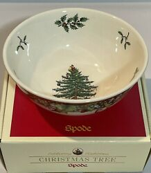 Spode Christmas Tree 2006 Annual Collection Candy Bowl Limited Edition In Box 6