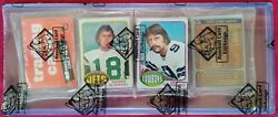 1976 Topps Nfl Rack Pack Possible Walter Payton Rookie Card Seldom Seen Htf
