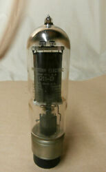 Used Western Electric 211-d Triode Vacuum Tube - Good Filament Continuity