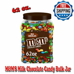 Mandmand039s Milk Chocolate Candy Bulk Jar 62 Oz. Fill Candy Dishes With Colorful Fun