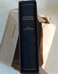 Path To Power Margaret Thatcher No. 272 Of 500 Signed Leather Slipcase Brand New