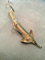 A Large Geens / Allcock Chase-me Vintage Lure .
