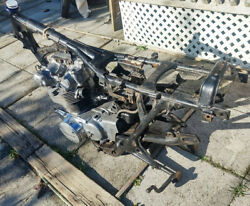 Honda And03974 Cl450 Frame Swing Arm Jackstand Engine Title And More. Must Read