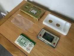 Boxed Nintendo Game And Watch Popeye Vintage 1981 Lcd Game - Excellent Cond.