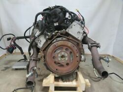 5.3 Liter Engine Motor Ls Swap Dropout Chevy Lm7 113k Complete Drop Out