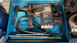 Bosch 11202 Rotary Hammer Drill With Bits Works Well