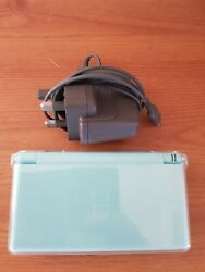 Nintendo Ds Lite Handheld Console - Turquoise And Five Games.