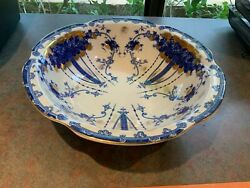 This Magnificent Vintage Victoria Ware Ironstone Bowl Is 15 Round, 4 Deep