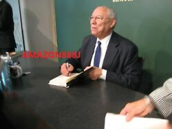 Signed General Colin Powell It Worked For Me Hcdj 1st/1st + Photos