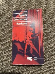 Gypsum Construction Handbook With Product And Construction Standards [unknown...