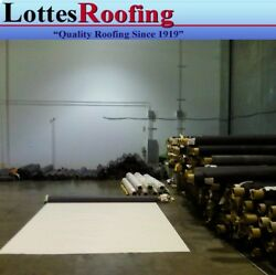 10and039x100and039 60 Mil White Epdm Rubber Roof Roofing
