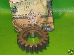 Yamaha Dt3 Rt3 Rt1mx Dt1e 2nd Pinion Gear 19-t Nos Oem 214-17121-10