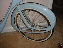 BOWDEN SPACELANDER BICYCLE WHEEL SET BICYCLE HEAVEN MUSEUM ITEM CRAIG MORROW