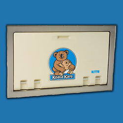 Koala Kare Kb100-00st Recessed Baby Changing Station Cream / Stainless Trim