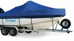 New Westland Exact Fit Sunbrella Cobalt 226 Br W/rail Mounted Tower Cover 99-06