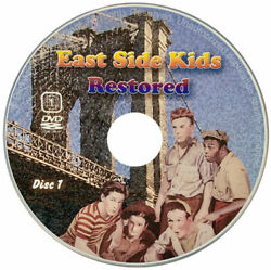 East Side Kids Bowery Boys Restored 66 Movies Shows And More Dvd New