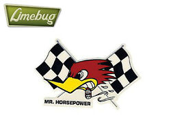 Mooneyes Left Flag Clay Smith Cams Mr Horsepower Sticker Stickers Decal Vw Bug