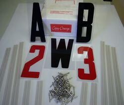 8 Marquee Letter And 10 Sign Track Kit Make Or Repair Your Own Sign