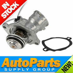 Mbz Complete Thermostat W/ Metal Housing Cover And Gasket Wahler Oem/germany 3.5l