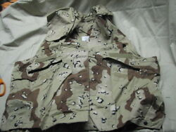 Military 100 Genuine Desert Storm Pasgt Vest Cover S/m Chocolate Chip