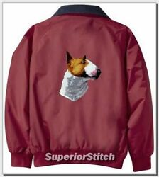 BULL TERRIER embroiderd Challenger jacket ANY COLOR B