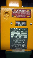 Maxon Shut Off Valve Natural Gas And Fuel Oil