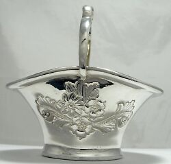 Vintage Cooper Brothers Silver-plated Repousseѐ Candy Nut Dish Hand Chased Uk