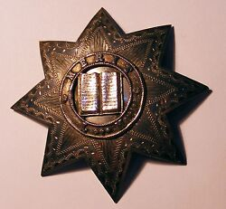 Great Britain Silver Medal  Order Breast Star .