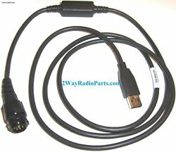 Real Motorola Apx6500, Apx7500 Mobile Usb Programming Cable Hkn6184c - New