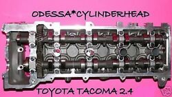 Toyota Tacoma T100 4runner 2.4 Dohc 2rz Cylinder Head 95-04 4 Port Only Reman
