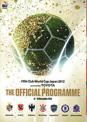 Fifa Club World Cup Japan 2012 Official Tournament Programme - Includes Chelsea