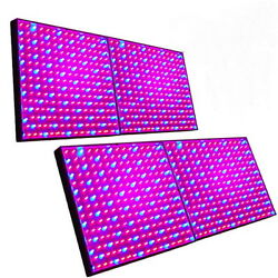 Four Grow Light Panel 225 Leds Blue+red For Green House, Hydroponic System