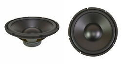 New 2 12 Woofer Speakers.8ohm.twelve Inch Bass.subwoofer.sub Driver.pair.