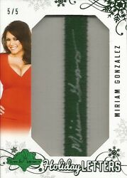 2012 Benchwarmer Holiday Edition - Miriam Gonzalez - Auto Holiday Letter - 5/5