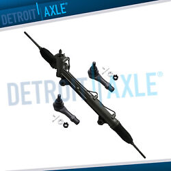 Complete Rack And Pinion Assembly + 2 Outer Tie Rod Ends For Explorer Mountaineer