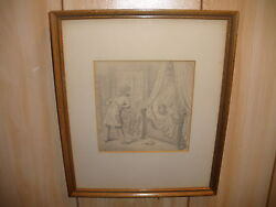 Antique Listed Franz Wieschebrink 19thc German Drawing Records Up To 14000