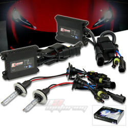 DT H11 4300 XENON HID LOW BEAM HEADLIGHT BULBS+SLIM AC BALLAST KIT GMC CADILLAC