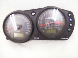 Kawasaki Zzr600 Instrument Guage Clip Speedometer Assembly With Covers Zx600j