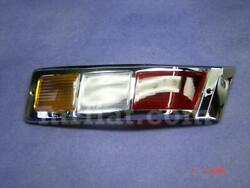 Mercedes 300 Sc Coupe Cabrio 1955-58 Amber Red Right Tail Light Lens New