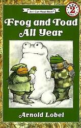 Frog And Toad All Year By Arnold Lobel English Library Binding Book Free Shipp