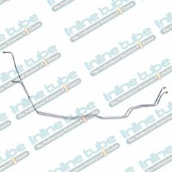 Inline Tube 72 Chevelle Ss Transmission Trans Cooler Lines T-350 Stainless 2pc