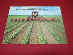 International Harvester Rotary Hoes And Cultivators Dealers Brochure Ad-34345-l