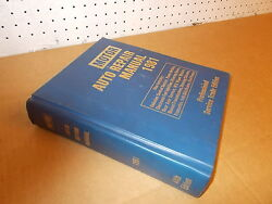 1981 Motor Auto Repair Manual 44th Edition Pro Service Trade Ford Chevy Dodge