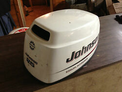 2004 Johnson 25 Hp 4 Stroke Outboard Hood Top Cowl Cover Hood Freshwater Mn