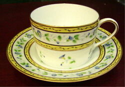 Raynaud Morning Glory Cup And Saucer New