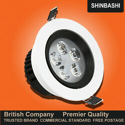 Premier Dimmable 3-12w Led White Mask Ceiling Wall Down Spot Lights 5yr Warranty