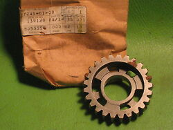 Yamaha Yz100 And03978 Yz125 And03977-78 4th Wheel Gear 25-tooth Oem 1w1-17241-0100