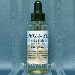 Mega-steam Fireplace Scented Smoke Fluid For Mth Pennsylvania Pa Union Pacific